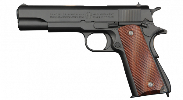 AIRSOFTPISTOLE G&G GPM1911 - 6MM GAS-BLOW-BACK