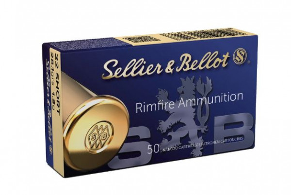 SELLIER & BELLOT .22 SHORT - 28,1G - 50 PATRONEN