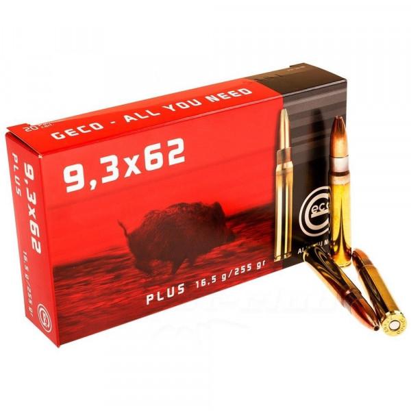 GECO PLUS 9,3x62 MM - 255GRS. - 20 SCHUSS
