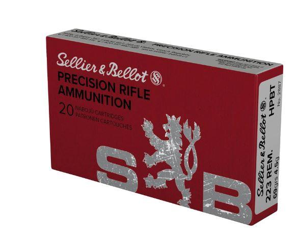 SELLIER & BELLOT .223REM - 69GRS. - HPBT - 20 PATRONEN