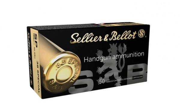 SELLIER & BELLOT .38SP 158GRS. - SP/TM - 50 SCHUSS
