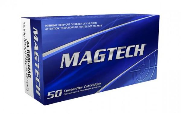MAGTECH FMJ-FLAT - .44REM-MAG - 240 GRS. -50 PATRONEN