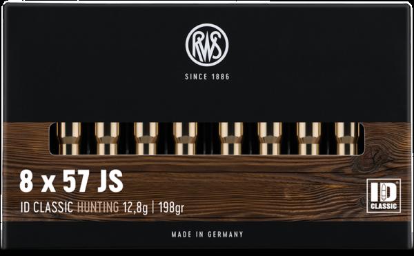 RWS ID CLASSIC - 8x57 iS - 198GRS. - 20 STÜCK