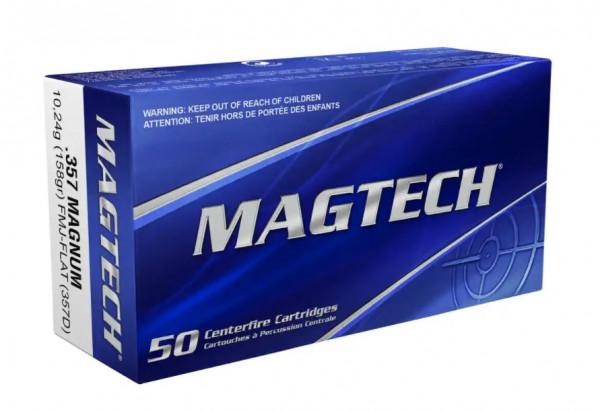 MAGTECH .357MAG. 158GRS FMJ-FLAT. - 50 SCHUSS