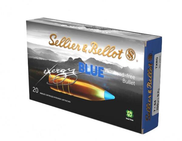 SELLIER & BELLOT EXERGY BLUE - 7x64 - 150GRS. - 20 PATRONEN
