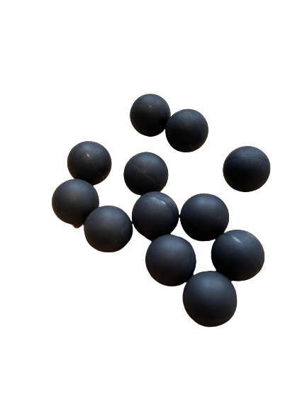 RUBBERBALLS .43 XTREME - SHOXX BLACK WIDOW - 100 STÜCK