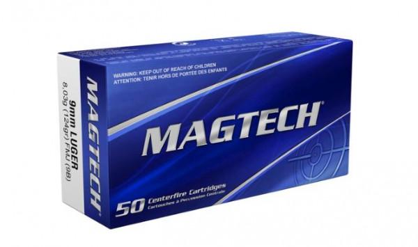 MAGTECH - 9MM LUGER FMJ - 124GRS. - 50 STÜCK