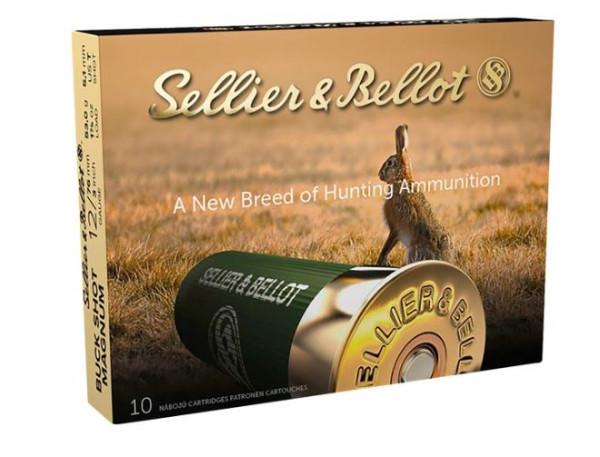 SELLIER & BELLOT BUCK SHOT MAGNUM - 12/76 6,1MM 53 G. - 10 SCHUSS