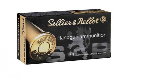 SELLIER & BELLOT .357MAG. 158GRS FMJ. - 50 SCHUSS