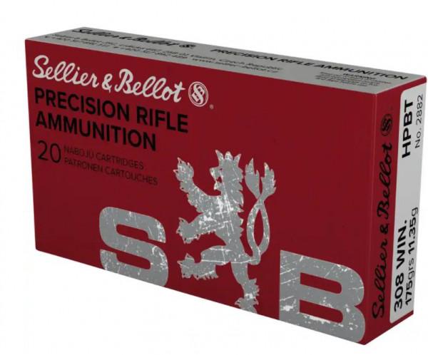 SELLIER & BELLOT 308WIN - 175GRS. - HPBT - 20 PATRONEN