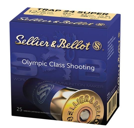 SELLIER & BELLOT TRAP 24 SUPER - 12/70 - 24G - 2,4MM - 25 PATRONEN