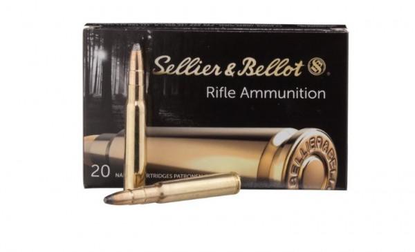 SELLIER & BELLOT - 8X57 IS/JS - TEILMANTEL - 12,7G / 196GR - 20 SCHUSS
