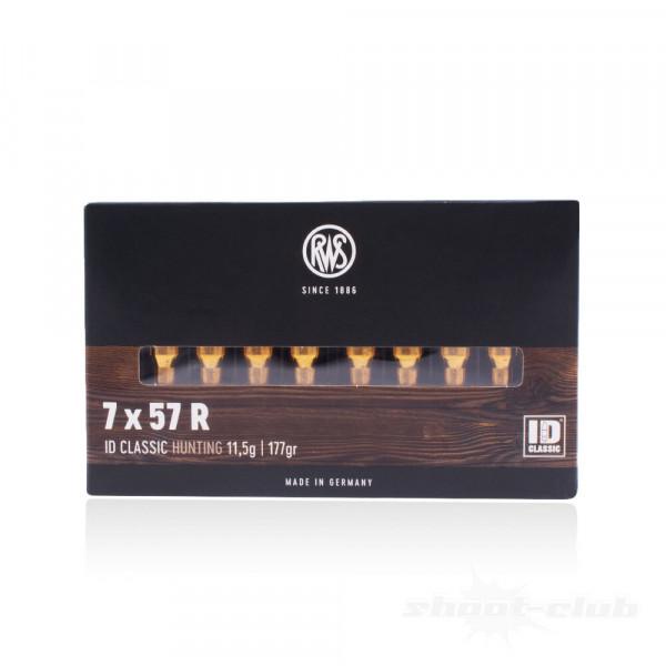 RWS ID CLASSIC HUNTING - 7X57R 117GRS. - 20 SCHUSS