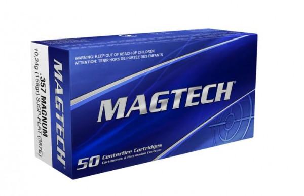 MAGTECH .357MAG. 158GRS SJSP-FLAT. - 50 SCHUSS