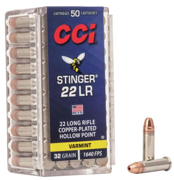 CCI STINGER - .22LR - KK-PATRONE - 50 SCHUSS