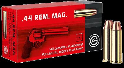 GECO VOLLMANTEL-FLACHKOPF 14,9G/230GRS IM KAL. .44REM. MAG.