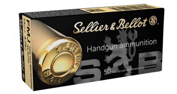 SELLIER & BELLOT 7,65MM BROWNING/ 32 AUTO - FMJ - 50 SCHUSS