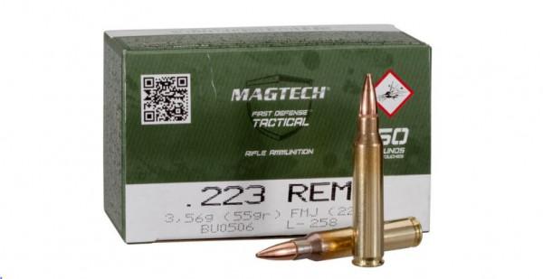 MAGTECH .223REM. FMJ - 55GRS. 50 SCHUSS