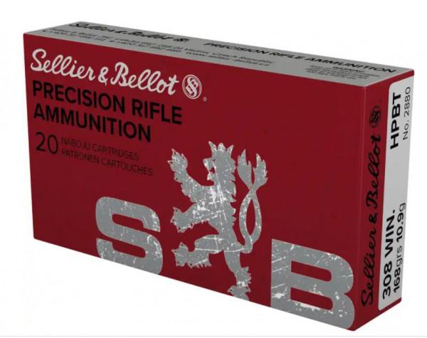 SELLIER & BELLOT 308WIN - 168 GRS. - HPBT - 20 PATRONEN